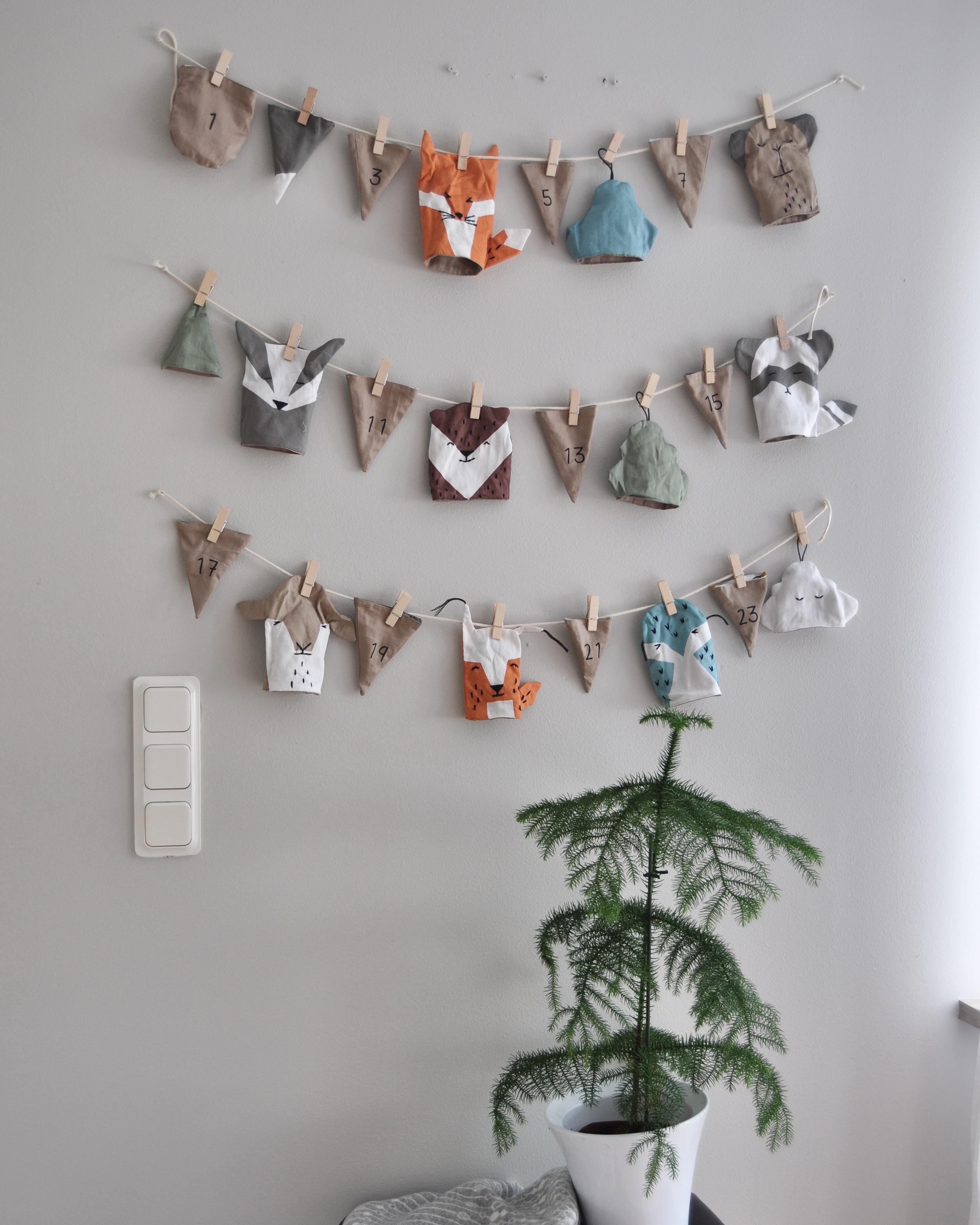 1:a December och 1:a Julkalendern för August!